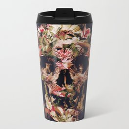 Jungle Skull Metal Travel Mug
