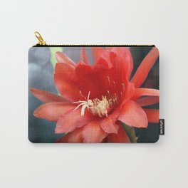 Jungle Cactus Red Carry-All Pouch
