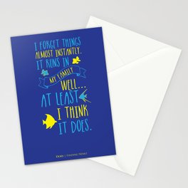Dory Stationery Cards