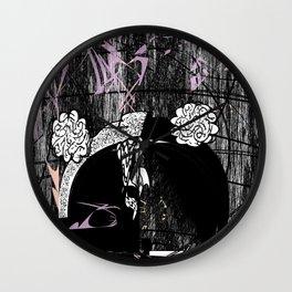 Z, a portrait Wall Clock