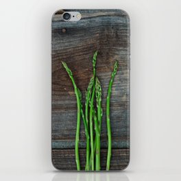 Fresh Asparagus iPhone Skin
