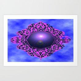 Light in the Mirror  Art Print