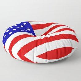 Original American flag Floor Pillow