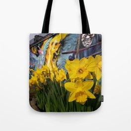 Shoreditch Daffs Tote Bag