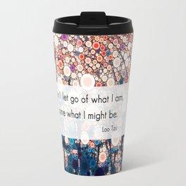 Daily Meditation Quote Travel Mug