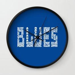 Chelsea 2019 - 2020 Wall Clock