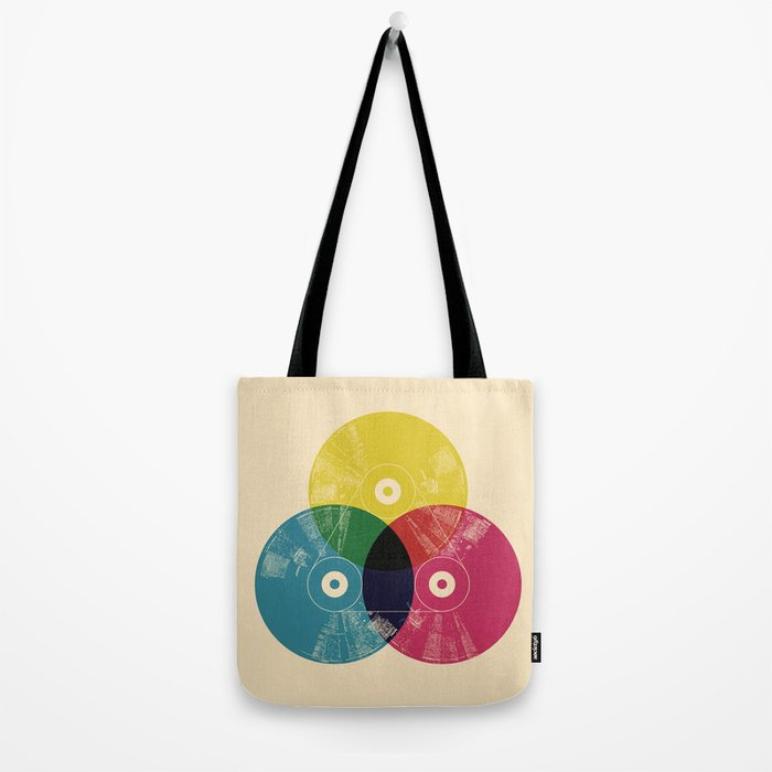 Music is the colors of life Tote Bag