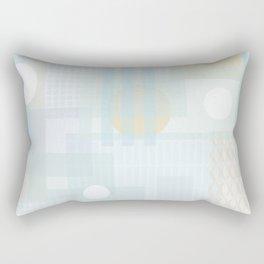 City dawn Rectangular Pillow
