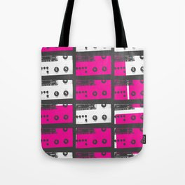 Stereo Sounds Tote Bag