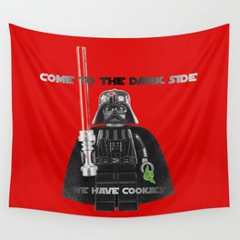 come to the dark side we have cookies Wall Tapestry