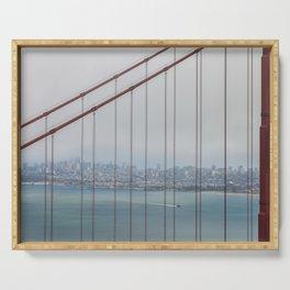 San Francisco Through Golden Gate Serving Tray