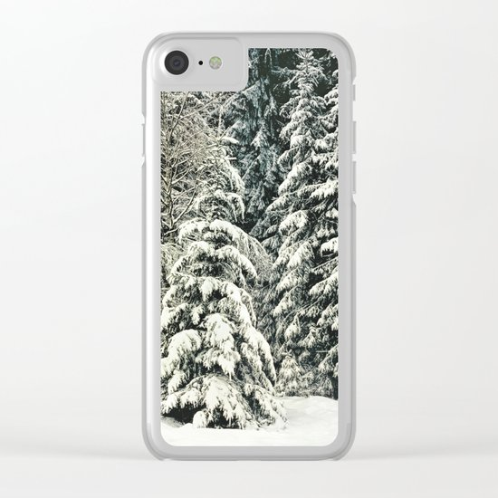 Warm Inside Clear iPhone Case