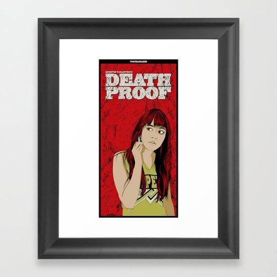 D.P.#02 Framed Art Print