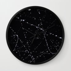 Dazed + Confused [Black] Wall Clock
