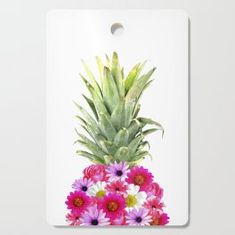 Pineapple Flowers Cutting Board