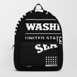 Seattle Washington USA Backpack