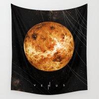 venus Wall Tapestries featuring VENUS by Alexander Pohl