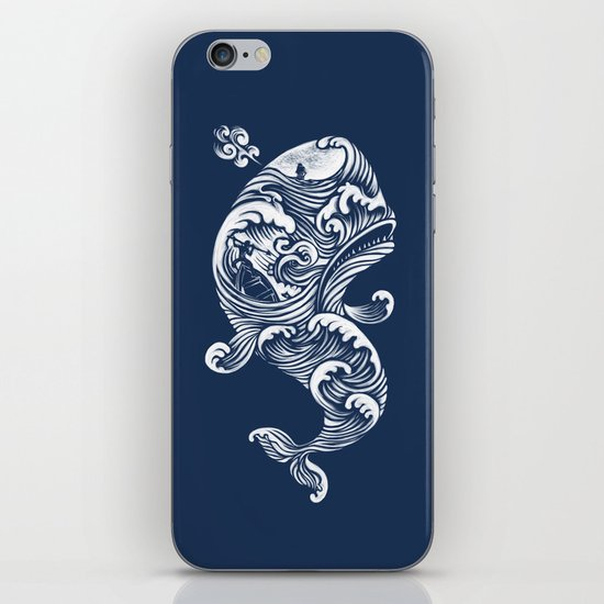 The White Whale  iPhone & iPod Skin