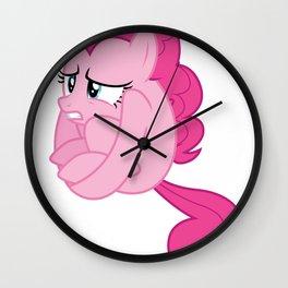 pinkie animals hourse ball Wall Clock