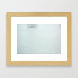 Lost Swan Framed Art Print