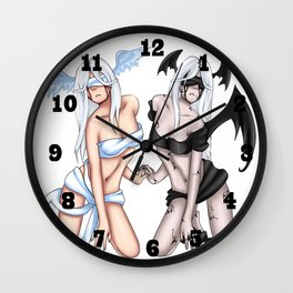 Forbidden Lovers Wall Clock