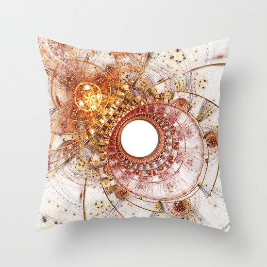 Fiery Temperament Throw Pillow