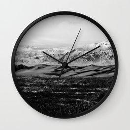 HIELO QUEMA II Wall Clock
