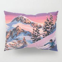 Skiier Pillow Sham