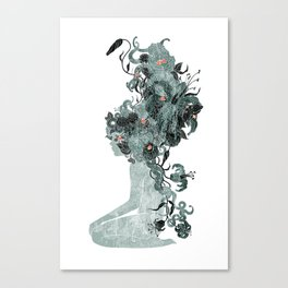 Freya's Hair (Teal) Canvas Print
