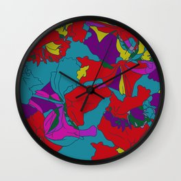 summers grace #2 Tropical Wall Clock