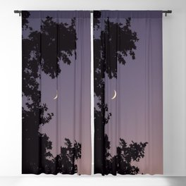 Smile Moon Blackout Curtain