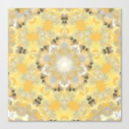 Orange and Yellow Kaleidoscope 4 Canvas Print