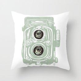 Surreal Lens Throw Pillow