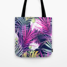 Crazy Ferns Tote Bag
