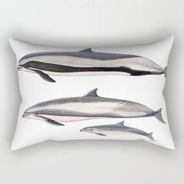 Fraser´s dolphin Rectangular Pillow