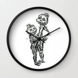 The Pumpkin's Wall Clock
