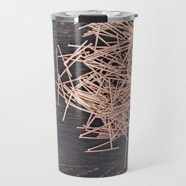 copper finish nails Travel Mug