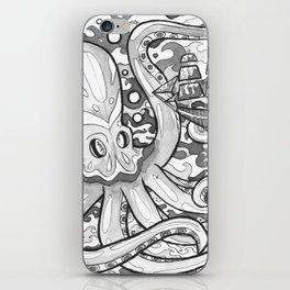 Octopus Attack iPhone Skin