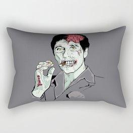 Zombie Al Pacino Scarface  Rectangular Pillow