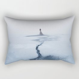 Winter's Sorrow Rectangular Pillow