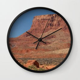 Colorful Mesas 3 - Desert Southwest Wall Clock