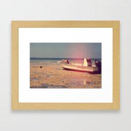 Up and Under Framed Art Print