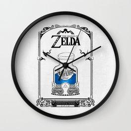 Zelda legend - Blue potion  Wall Clock