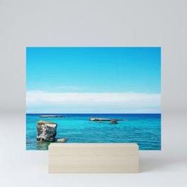 Seacoast of Salento Mini Art Print