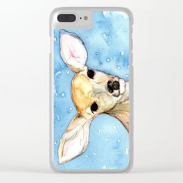 Hello, deer. Clear iPhone Case