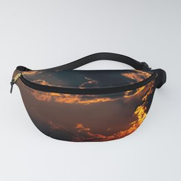 Smoke Equals Unbelievable Sunset Fanny Pack