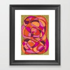 Pinks Framed Art Print