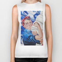 Rosie the Riveter Biker Tank