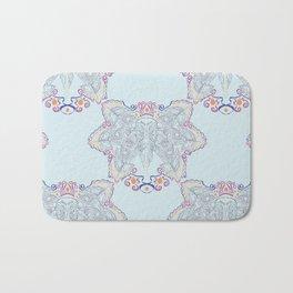Atlantic Puffin ~ Blue Bath Mat