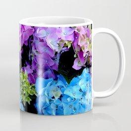 Colorful Flowering Bush Coffee Mug